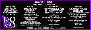 DV8 Fest 2012 Lineup
